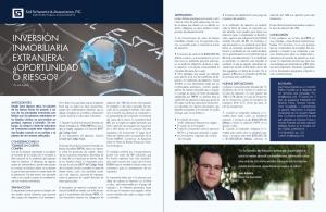 Inversion Inmobiliaria Extranjera Oportunidad O Riesgo JMA